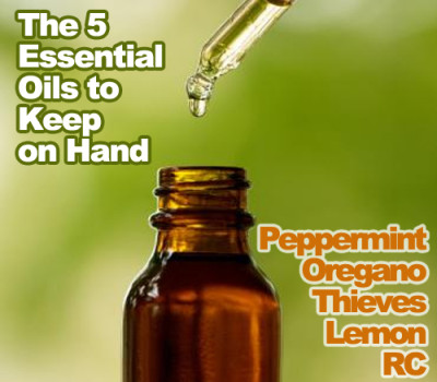 5 Essential Oils to Keep on Hand