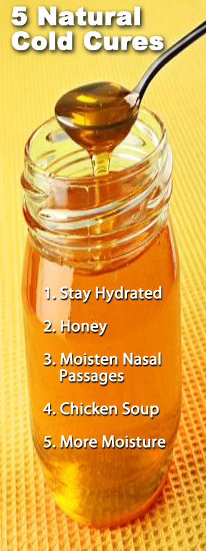 5 Natural Cold Cures