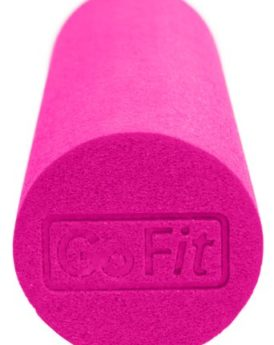 GoFit-Breast-Cancer-Logo-18-x-6-Inch-Foam-Roller-with-Training-Manual-Pink-0