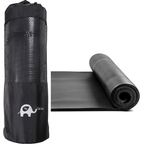 Om Exercise Yoga Mat 1 2 Inch Extra Thick Extra Long 72