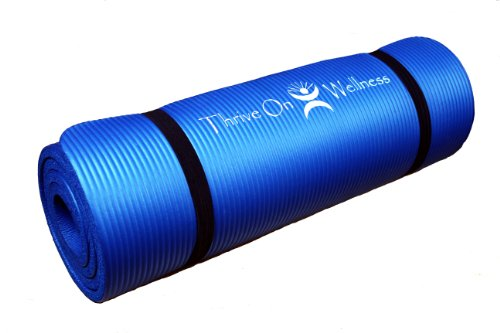 Thrive On Wellness Thick Yoga Mat Wholesomeone Natural