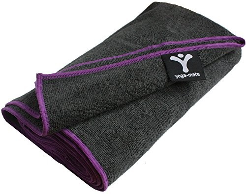 Yoga-Mate-Bikram-Towel-Buy-2-and-Save-15-1-Rated-Skidless-Towels-for-Hot-Yoga-100-Ultra-Absorbent-Microfiber-Best-No-Skid-Non-Slip-Exercise-Towels-Perfect-Fit-to-Standard-Size-Mat-100-Satisfaction-Mon-0
