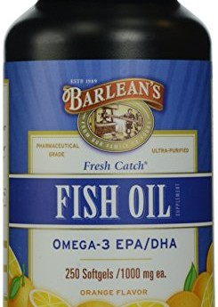 Barleans-Organic-Oils-Fresh-Catch-Fish-Oil-Omega-3-Orange-Flavor-250-Softgels-1000-mg-each-0