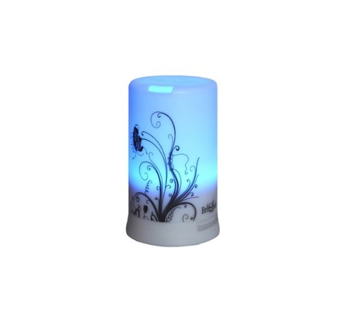 BriteLeafs-2-in-1-Ultrasonic-Aroma-Diffuser-Ultrasonic-Humidifier-4-Timer-Settings-6-Color-Light-Changes-Free-10ml-Aromatherapy-Essential-Oil-Lavender-0