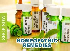 Homeopathic Remedies - Shop Now