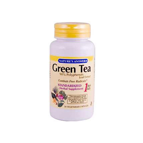 Nature's Answer Green Tea Leaf Extract - 30 Vegetarian Capsules