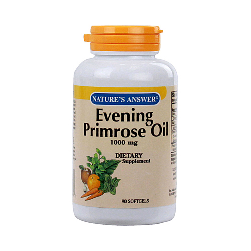 Nature's Answer Evening Primrose Oil - 1000 mg - 90 Softgels
