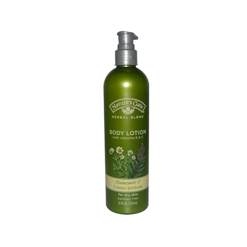 Nature's Gate Organics Body Lotion Chamomile And Lemon Verbena - 12 fl oz