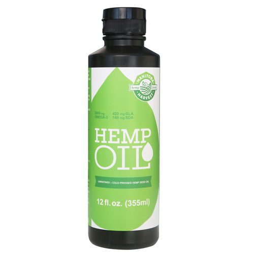 Manitoba Harvest Hemp Seed Oil - 12 oz