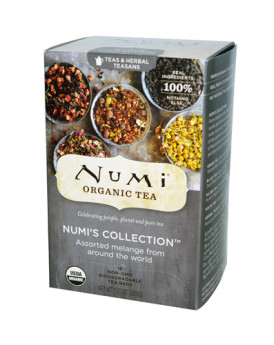 Numi Numi's Collection Assorted Melange - 18 Tea Bags - Case of 6