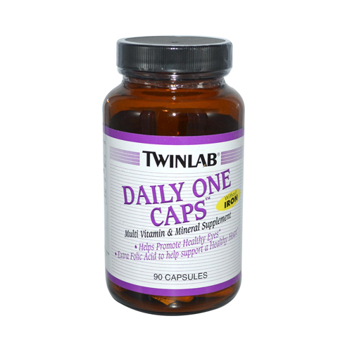 Twinlab Daily One Caps without Iron - 90 Capsules