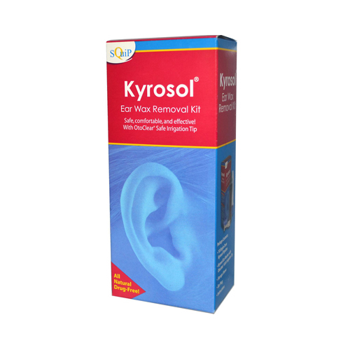 Squip Products Kyrosol Ear Wax Removal Kit - 10 Packets