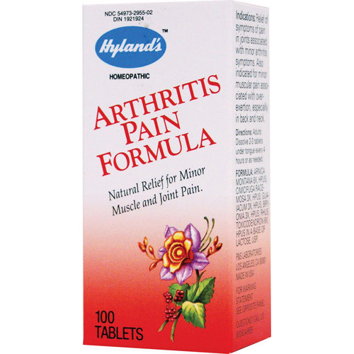 Hylands Homeopathic Arthritis Pain Formula - 100 Tablets