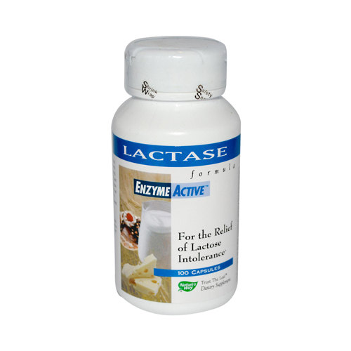 Nature's Way Lactase Formula - 100 Capsules