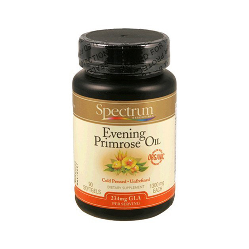 Spectrum Essentials Organic Evening Primrose Oil - 1300 mg - 90 Capsules