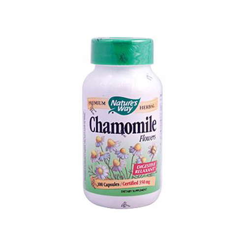 Nature's Way Chamomile Flowers - 100 Capsules