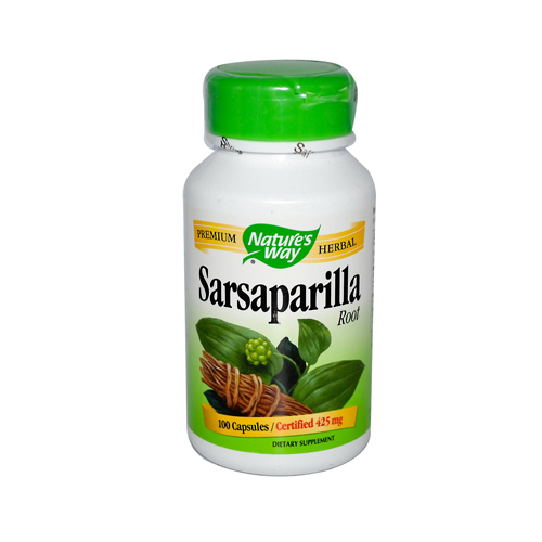 Nature's Way Sarsaparilla Root - 100 Capsules