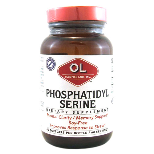 Olympian Labs Phosphatidyl-Serine - 100 mg - 60 Softgels