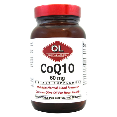 Olympian Labs Coenzyme Q10 - 60 mg - 100 Softgels