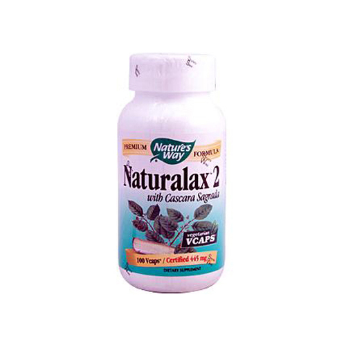 Nature's Way Naturalax 2 with Cascara Sagrada - 100 Vcaps
