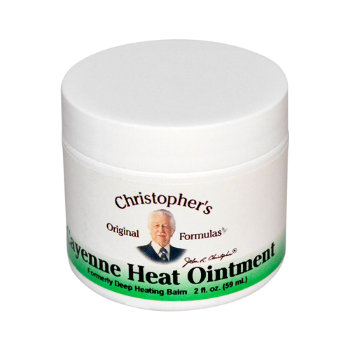 Dr. Christopher's Cayenne Heat Ointment - 2 fl oz