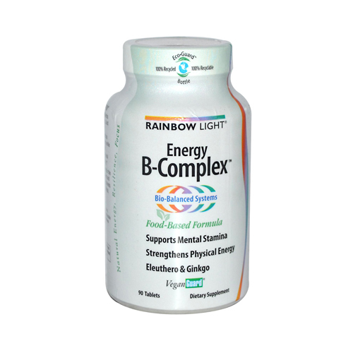 Rainbow Light Energy B-Complex - 90 Tablets