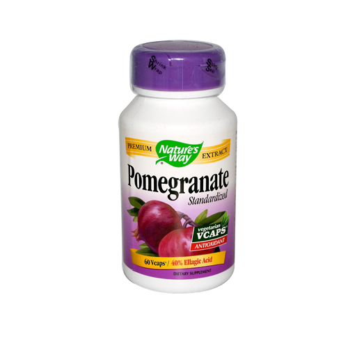 Nature's Way Pomegranate Standardized - 60 Vegetarian Capsules