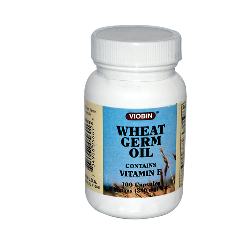 Viobin Wheat Germ Oil - 340 mg - 100 Capsules