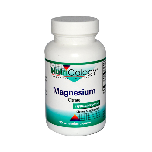 NutriCology Magnesium Citrate - 170 mg - 90 Capsules