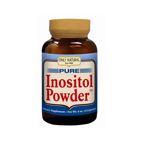 Only Natural Pure Inositol Powder - 4 oz