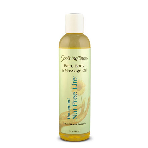 Soothing Touch Massage Oil - Nut Free - 8 oz