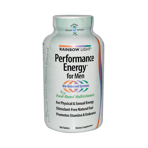 Rainbow Light Performance Energy Multivitamin for Men - 180 Tablets