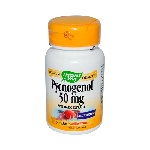 Nature's Way Pycnogenol - 50 mg - 30 Tablets