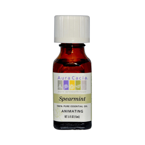 Aura Cacia Essential Oil Spearmint - 0.5 fl oz