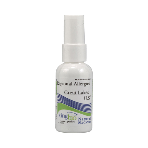 King Bio Homeopathic Great Lakes U.S. - 2 fl oz