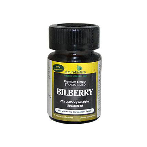 FutureBiotics Bilberry - 140 mg - 60 Capsules