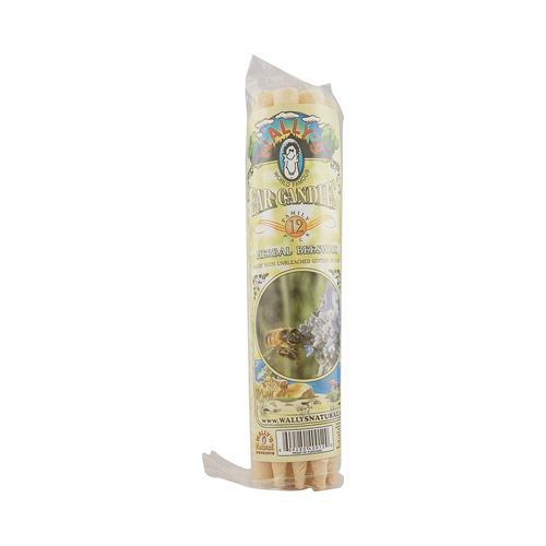 Wally's Ear Candles Herbal Beeswax Family Pack - 12 Candles