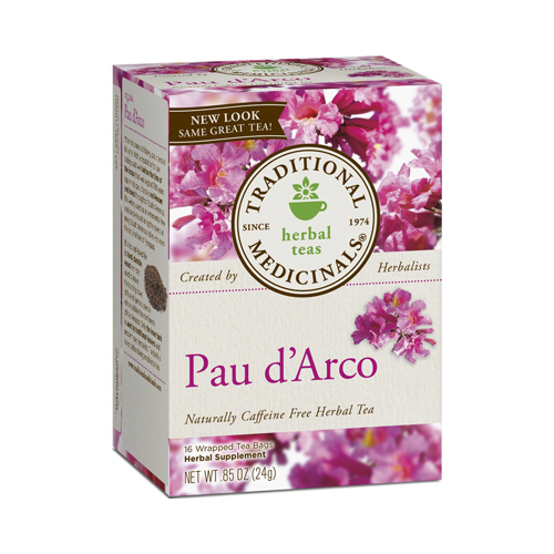 Traditional Medicinals Pau d'Arco Caffeine Free Herbal Tea - 16 Bags