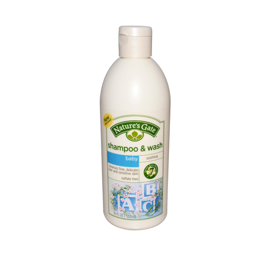 Nature's Gate Baby Shampoo Soothing - 18 fl oz