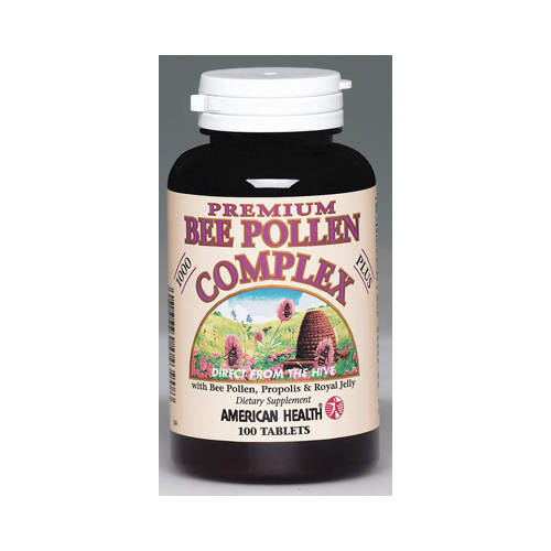 American Health Bee Pollen Complex - 1000 mg - 100 Tablets