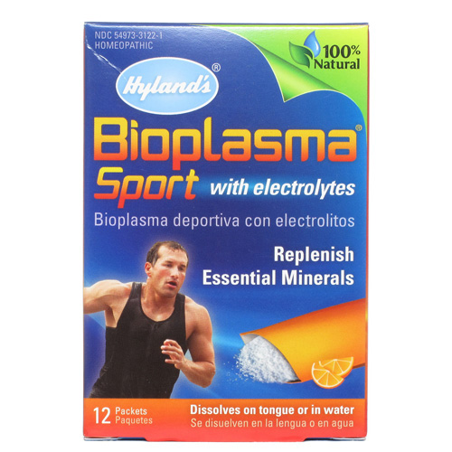 Hylands Homeopathic Bioplasma Sport with Electrolytes - 12 Packets