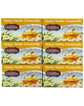 Celestial Seasonings Herbal Tea - Caffeine Free - Honey Vanilla Chamomile - 20 Bags
