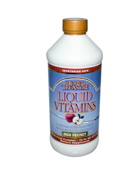 Buried Treasure Liquid Vitamins - 16 fl oz