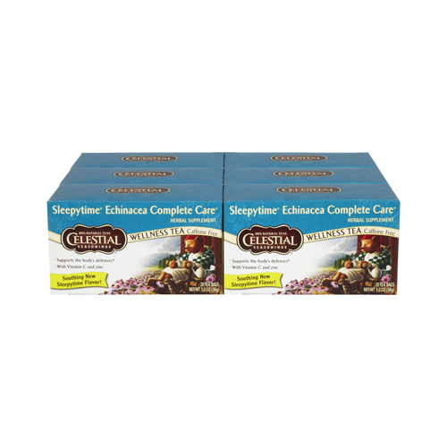 Celestial Seasonings Wellness Tea - Echinacea Complete Care - Caffeine Free - 20 Bags