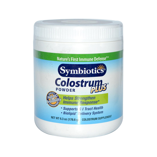Symbiotics Colostrum Plus Powder - 6.3 oz