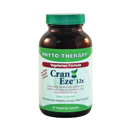 Phyto-Therapy Vegetarian Cran Eze - 50 Softgels