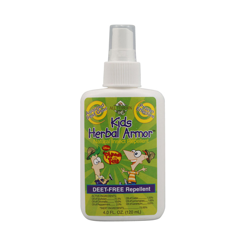 All Terrain Kids Herbal Armor Phineas and Ferb Natural Insect Repellent - 4 fl oz