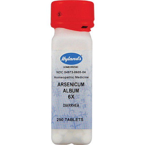 Hylands Homeopathic Arsenicum Album 6X - 250 Tablets