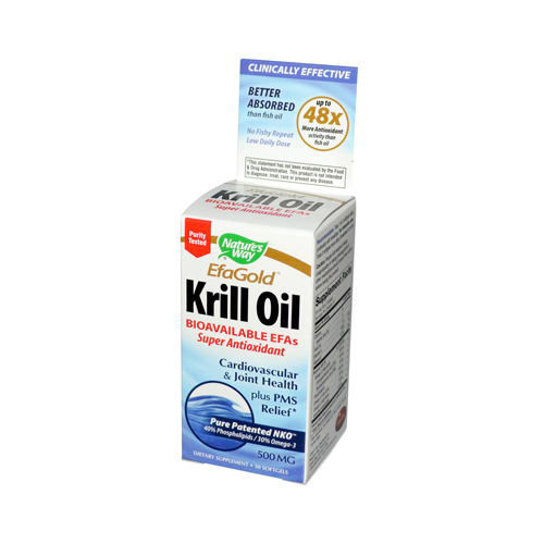Nature's Way EfaGold Krill Oil - 30 Softgels