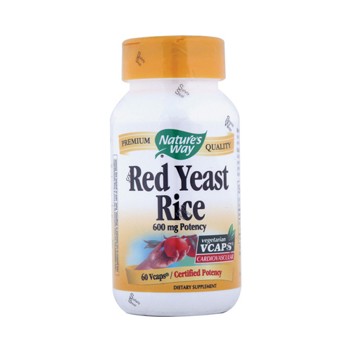 Nature's Way Red Yeast Rice - 60 Vcaps